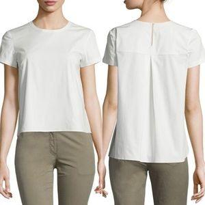 Theory Henrikka Cotton Tech Hi-Lo Shirt NWOT
